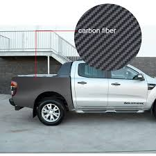 Custom Car Sticker 2pc Car Rear Trunk Carbon Fiber Graphic Vinyls Car Accessories Modified Scratch Decals For Ford Ranger T6 T7 Buy At The Price Of 73 07 In Aliexpress Com Imall Com