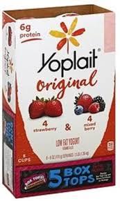 strawberry mixed berry yogurt