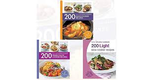 slow cooker recipes 3 books bundle