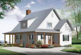 small modern farmhouse cottage