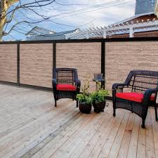 Freedom Artisan 6 Ft H X 6 Ft W Black Aluminum Flat Top Privacy Lowes Com Privacy Fence Panels Exterior Decor Metal Fence Panels