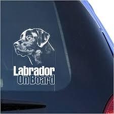 Amazon Com Lab Labrador Retriever Clear Vinyl Decal Sticker For Window Black Labs Dog Sign Art Print Arts Crafts Sewing
