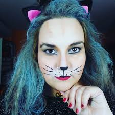 how to do simple cat face makeup