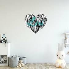 Gold Heart Wall Decals Wayfair