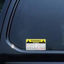 Car Safety Warning Rules Decal Card Sticker For Nissan Teana Qashqai Bluebird Sunny Tiida Paladin Geniss Juke X Trail Car Stickers Aliexpress