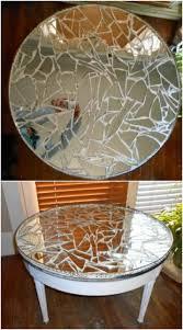 diy ideas to upcycle broken mirrors