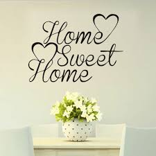 Home Decal Wall Sticker Family Vinyl Quotes Lettering Words Living Room Backdrop For Sale Online Ebay