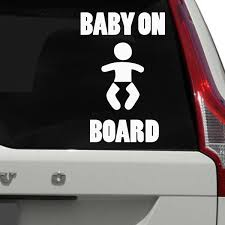 Baby On Board Car Decal The Decal Guru