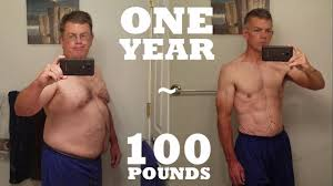 1 Year 100 lb Weight Loss - Mind & Body Transformation - YouTube