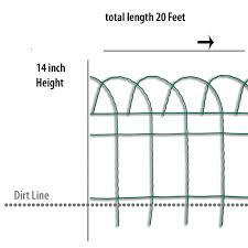 Garden Accents Common 0 2 In X 240 In X 14 In Actual 0 2 In X 240 In X 14 In Green Steel Garden Edging In The Garden Fencing Department At Lowes Com