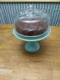 10 inch milk white cake stand
