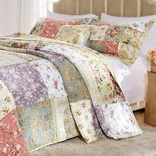 Greenland Home Fashions Blooming Prairie 3-Piece King Bedspread  Set-GL-0910NK - The Home Depot