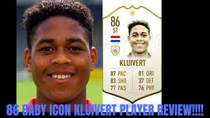 FIFA 20 ICON PATRICK KLUIVERT REVIEW 86 I BABY ICON KLUIVERT PLAYER REVIEW  I Fifa 20 ultimate Team - YouTube