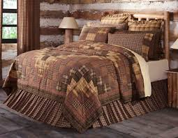 prescott luxury cal king quilt brown