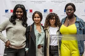 Oulaya Amamra, Déborah Lukumuena, Jisca Kalvanda and Uda Benyamina... News  Photo - Getty Images