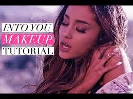 ariana grande into you makeup