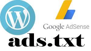 wordpress ads txt adsense adsense