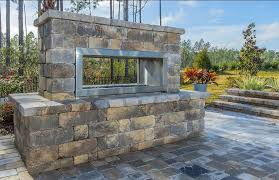 outdoor fireplace projects florida