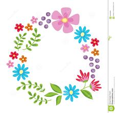 Marco Floral Las Flores Retras Lindas Enrruellan Perfecto Para