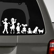 Zombie Family Car Decal The Decal Guru