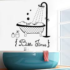 Bathroom Wall Stickers Vinyl Bathtub Shower Bathing Door Wall Decal For Bathroom Decoration Waterproof Family Wallpaper Wall Decal Sticker Wall Decal Stickers From Joystickers 11 04 Dhgate Com