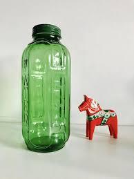 green glass juice water bottle 32oz