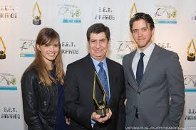 Vicarious Photography | 2014 SET Awards | 2014 SET Awards- Katja Herbers,  Larry Mirisch, & Ashley Zukerman