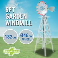garden windmill 6ft metal 182cm