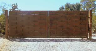 Automatic Driveway Gates With Solar Power Affordable Fence And Gates