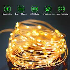 led solar light copper wire solar