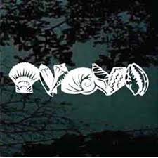 Seashell Car Decals Stickers Decal Junky