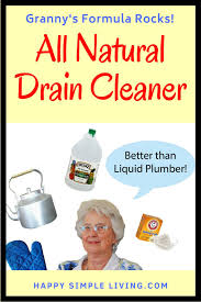forget the liquid plumber granny s