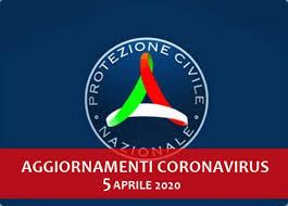 Protezione Civile, aggiornamenti coronavirus 5 aprile 2020: calano ...