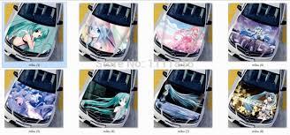 Itasha High Definition Diy Customized Anime Hatsune Miku Car Hood Stickers Vinyl Hatsune Miku Decal Sticker Sticker Tattoo Stickers 3sticker Aliexpress