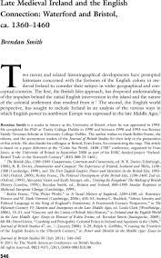 Late Medieval Ireland and the English ...