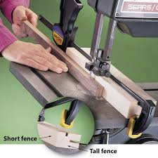 fence for band saw and drill press