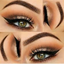 the ideal makeup looks for green eyes