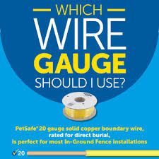 Which Wire Gauge Do I Need To Install An In Ground Fence Petsafe Articles