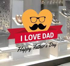 I Love Dad Wall Sticker Tenstickers