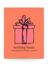 philosophy nothing beats unwrapping birthday surprises