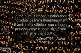 general conference quotes on education and lifelong learning