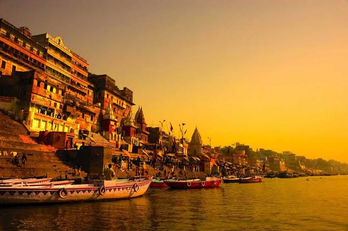 Image result for Ghats of Varanasi""
