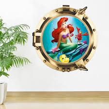 Little Mermaid Princess Wall Decals The Treasure Thrift