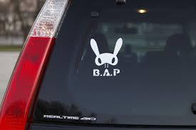 B A P K Pop Decal Kpop Pop Car Decals