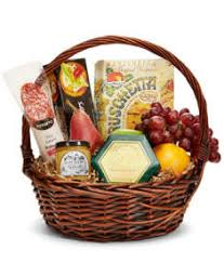 california meat and cheese gift basket