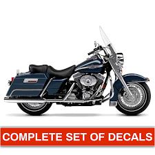 Harley Davidson Road King 100th Anniversary Decals Stickerhauz
