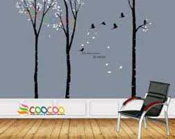 Wall Decal Wall Stickers Tree Wall Decals Wall Decals Etsy Forest Wall Decals Nursery Wall Decals Kids Wall Decals