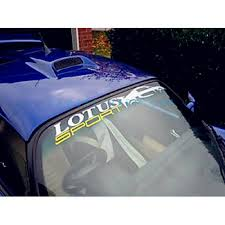 Lotus Sport Windshield Decal Style 1