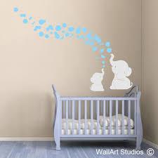 Elephant Bubbles Wall Art Sticker Wall Art Studios