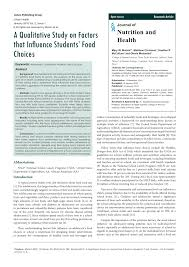a qualitative study on factors that